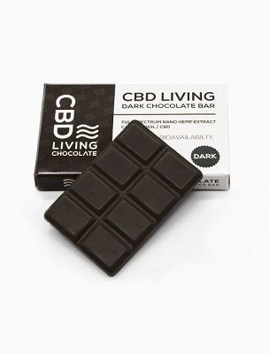 CBD Living | Dark Chocolate Bar 120mg