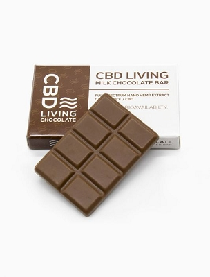 CBD Living | Milk Chocolate Bar 120mg
