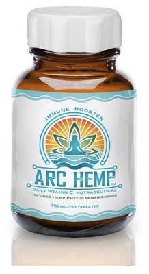 Arc Hemp Tablets | Immune Booster 750mg