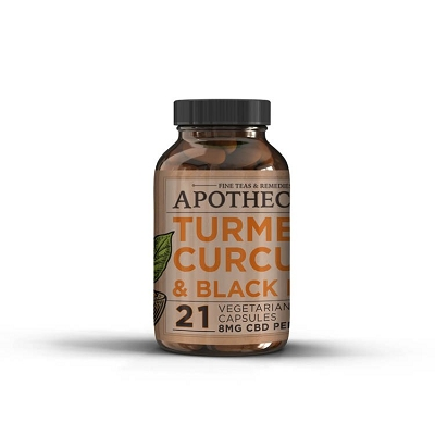 The Brothers Apothecary Immunity Support | Hemp + Turmeric Capsules