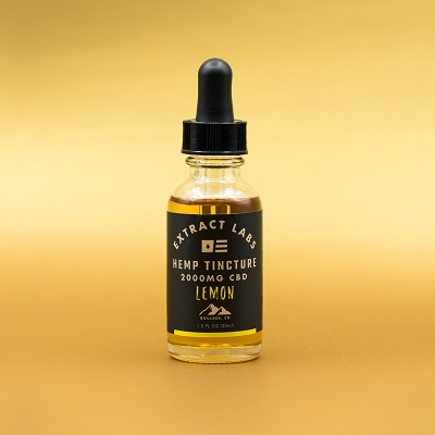 Extract Labs Wellness Drops | 2000mg Lemon