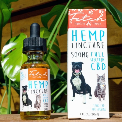 Extract Labs FETCH | 500mg Pet Tincture