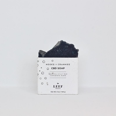 Nooks + Crannies | CBD Soap