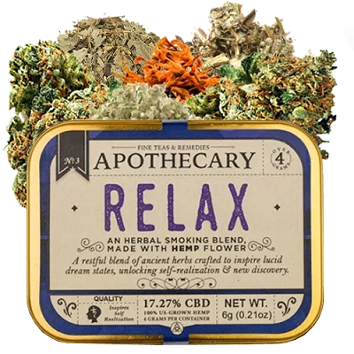 Relax | Hemp CBD Smoking Blend