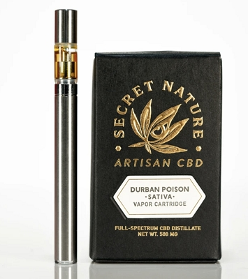 Durban Poison | Uplifting Sativa Cartridge