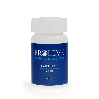 Proleve Capsules |Isolate 25mg