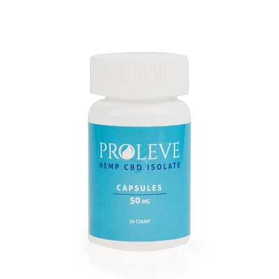 Proleve Capsules | Isolate 50mg