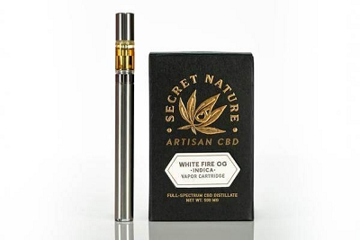 White Fire OG | Restful Indica Cartridge