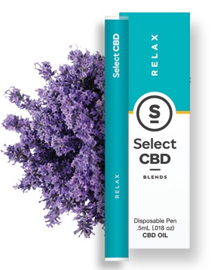 Select CBD Lavender Diffuser | Relax 250mg